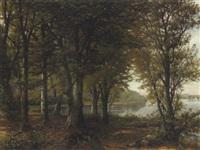 sonniger wald by heinrich a. hüser