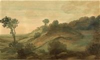 paysage by alphonse legros