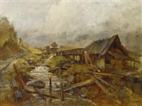 alte bergmühle in der steiermark by marie egner