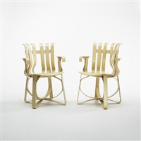 hat trick chairs (pair) by frank gehry