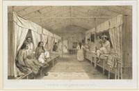 un interieur dans le village de mystern-cornelis près batavia, pl.132 (atlas pittoresque, from the dumont d'urville's voyage au pôle sud) by lemercier
