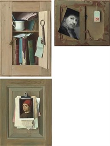 the small cupboard 2 others smllr 3 works by gerald norden