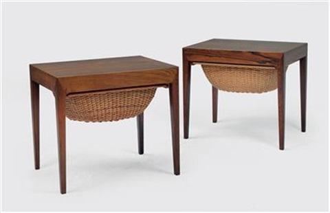 A Pair Of Occasional Cabinets By Severin Hansen