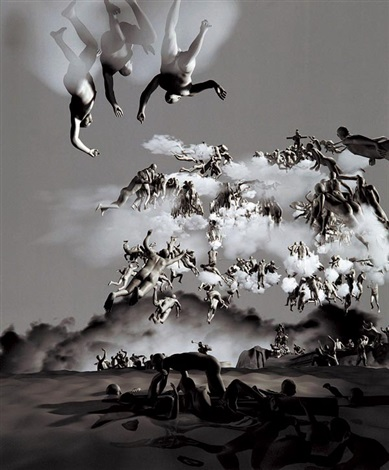the last judgement in cyberspace-the rear view by miao xiaochun