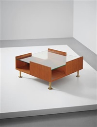 unique coffee table, designed for a villa, liguria by gio ponti