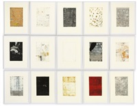 untitled (+ 14 others; 15 studies for the página 44 series) by ricardo mazal