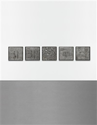 tampa tool reliefs (in 5 parts) by jim dine