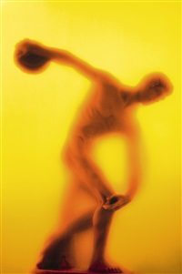 piss discus by andres serrano