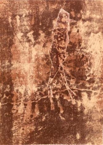 signes sols sorts les assemblages de jean dubuffet webel 395 ouvrage abondamment illustré de planches en noir et en couleurs jacomet tirage à 700 exemplaires numérotés 150 de tête n ° 17 contenant la lithographie originale en couleurs le prome by jean dubuffet