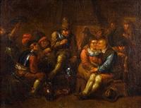 intérieur d'auberge frivole by egbert van heemskerk