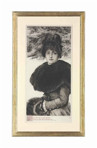 promenade dans la neige w 48 by james jacques joseph tissot