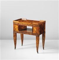 side table (from the casa gadda conti, milan) by tomaso buzzi