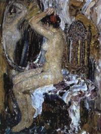 près du miroir by leonid gershovich krivitsky