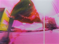 diptychon: how many steps (diptych) by pipilotti rist