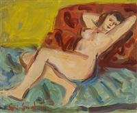 nue sur le divan by marjorie (jori) elizabeth thurston smith