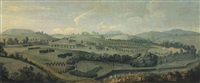 an view of gisburne park, yorkshire, and the park by robert griffier