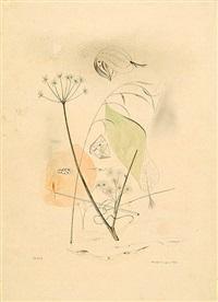 ohne titel (florale komposition) by otto hofmann