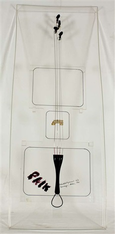 cello by nam june paik