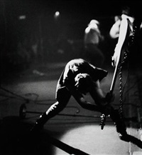 paul simonon (+ 3 others; 4 works) by pennie smith