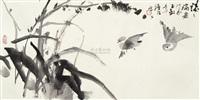 花鸟 by xu yuanshao