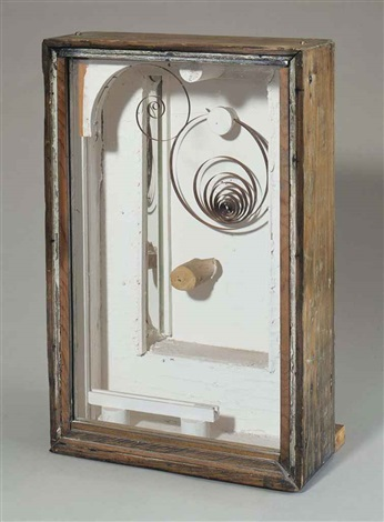 untitled abandoned cage by joseph cornell