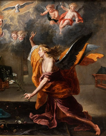verkündigung an maria by willem van herp the elder