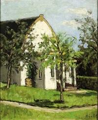 the artist's house in hoogsoeren by marie van regteren altena
