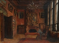 study of interior scene by maurice joron