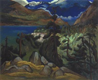 the sound (british columbia) by patrick george cowley-brown