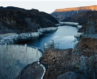hoover dam and lake mead, nevada from american power by mitch epstein