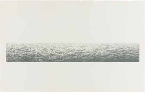 untitled ocean by vija celmins
