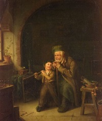 first military lesson by camille alfred pabst