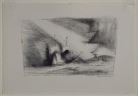 off the coast by lyonel feininger