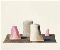 an imaginary landscape by david hockney