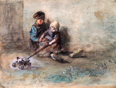 children by jozef israëls