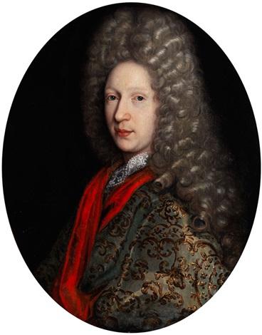 portrait eines adeligen herren by pierre gobert