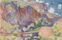 canyon bridge by kenneth miller adams