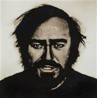 luciano pavarotti, turin by anton corbijn