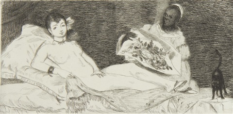 olympia (harris 53) by édouard manet
