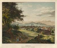 herisau. haupt ort vom canton appenzell ausserrhoden by carl friedrich heinzmann