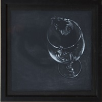 mouse in a glass by adam stennett