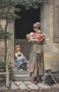 la jeune mère by victor tortez
