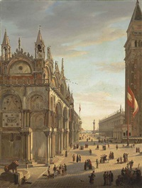 piazza san marco, venice by frans vervloet