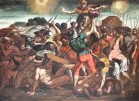 scène de bataille by michelangelo