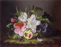 still life of flowers by amalie kaercher