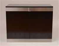 two-door cabinet by willy rizzo