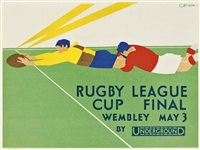 rugby league cup final by charles burton