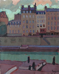 view of the seine by eero snellman