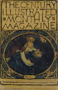study for century magazine cover by violet oakley