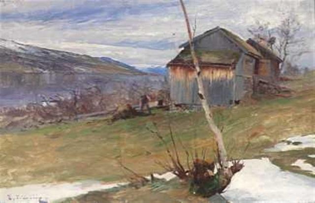 arbeid på en gård i nord norge by even ulving
